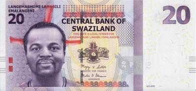 20 эмалангени 2010 Свазиленд.