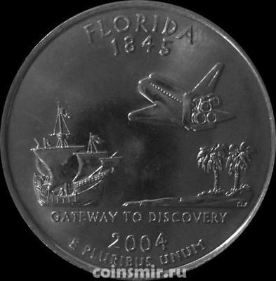 25 центов 2004 P США. Флорида.