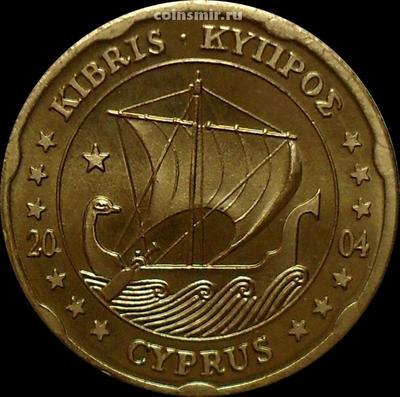 20 евроцентов 2004 Кипр. Европроба.