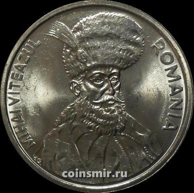 100 лей 1992 Румыния. Михай Храбрый. UNC.