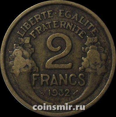2 франка 1932 Франция.