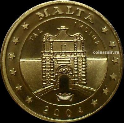 10 евроцентов 2004 Мальта. Мдина. Европроба.
