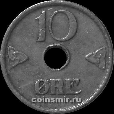 10 эре 1949 Норвегия.