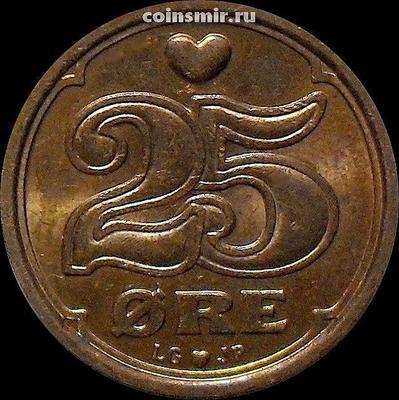 25 эре 2000 LG;JP;A Дания.