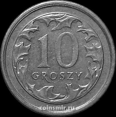 10 грошей 2000 Польша.