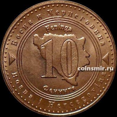 10 фенингов 2007 Босния и Герцеговина.