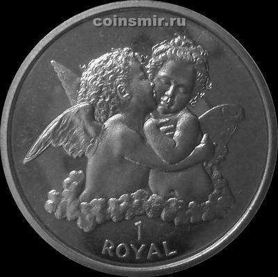 1 роял 1998 Гибралтар. Ангелы.