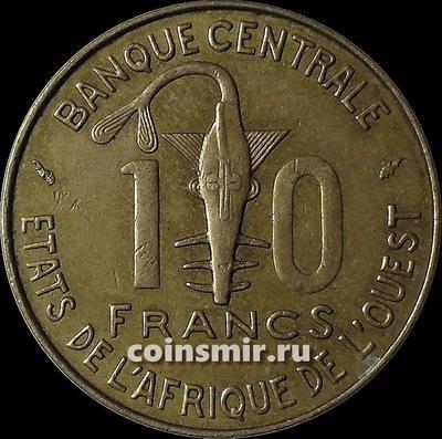 10 франков 1977  КФА BCEAO (Западная Африка).