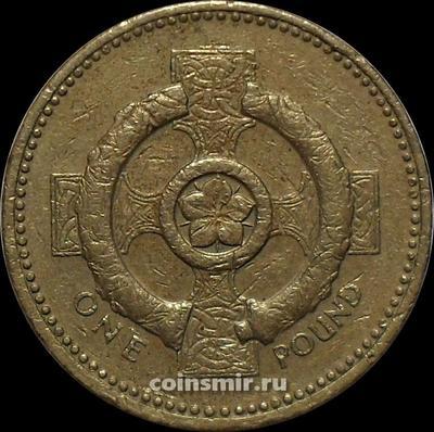 1 фунт 1996 Великобритания.