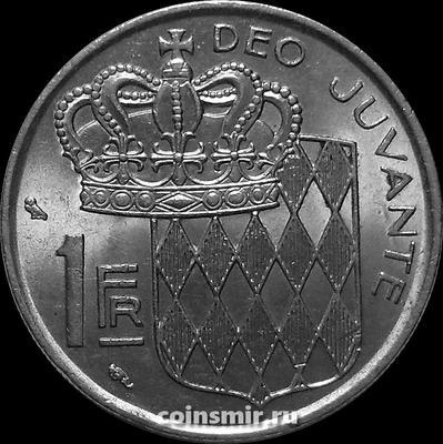 1 франк 1974 Монако.