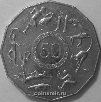 50 центов 2005 Австралия. Игры Содружества. Мельбурн 2006.