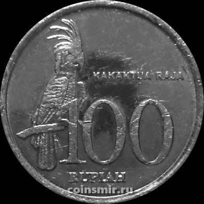 100 рупий 1999 Индонезия. Какаду. VF