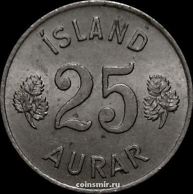 25 эйре 1960 Исландия.