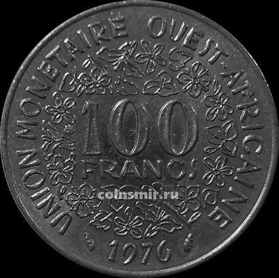 100 франков 1976  КФА BCEAO (Западная Африка).