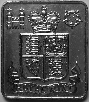 Жетон монетного двора Великобритании 1984-1987.