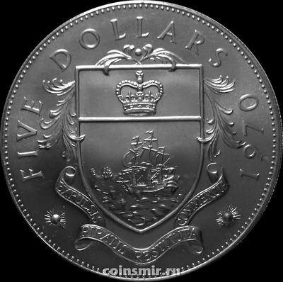 5 долларов 1970 Багамские острова.