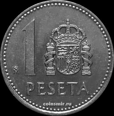 1 песета 1985 Испания.