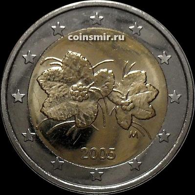 2 евро 2005 Финляндия. Морошка.