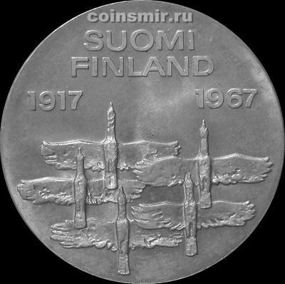 10 марок 1967 Финляндия. 50 лет независимости.