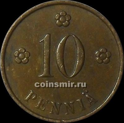 10 пенни 1940 Финляндия.