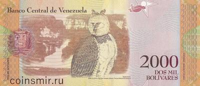 2000 боливаров 2016 Венесуэла.