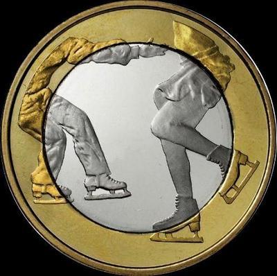 5 евро 2015 Финляндия. Фигурное катание.