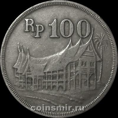 100 рупий 1973 Индонезия.