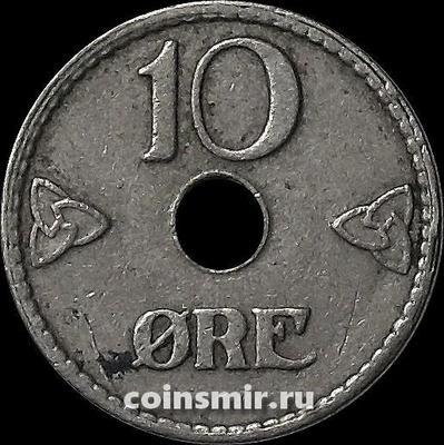 10 эре 1947 Норвегия.