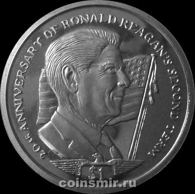 1 доллар 2004 Сьерра-Леоне. Рональд Рейган.