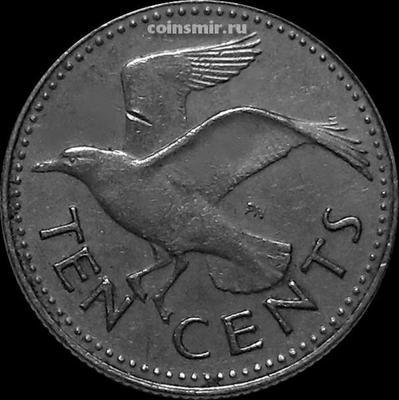 10 центов 1984 Барбадос. Чайка.