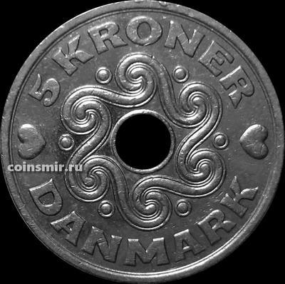 5 крон 1997 Дания.