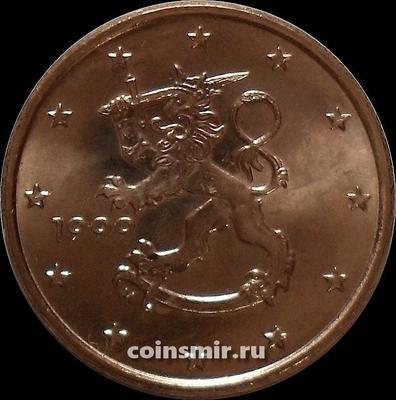 5 евроцентов 1999 М Финляндия.