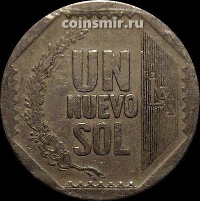 1 новый соль 2009 Перу.