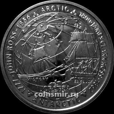 1 крона 2006 Фолклендские острова. Джон и Джеймс Кларк Росс.