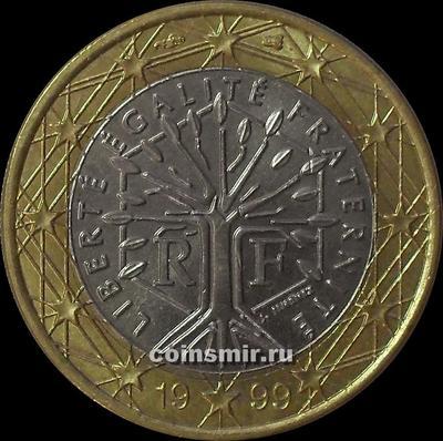1 евро 1999 Франция.