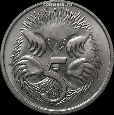 5 центов 1978 Австралия. Ехидна.