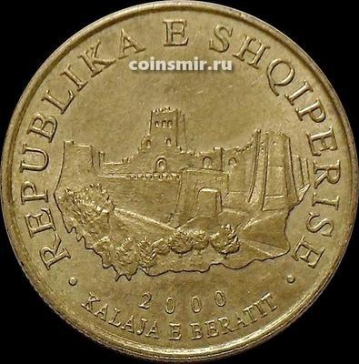 10 лек 2000 Албания. Крепость Берат.