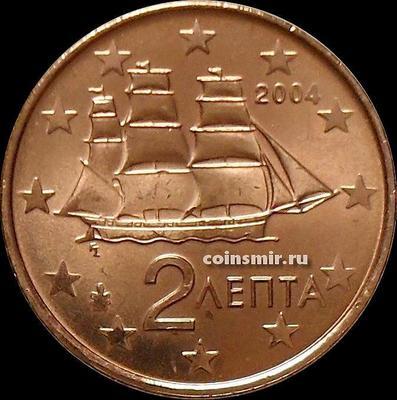 2 евроцента 2004 Греция.