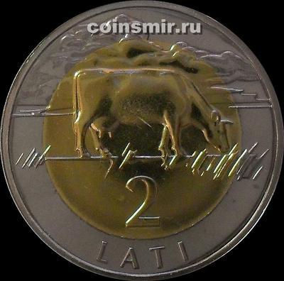 2 лата 2003 Латвия.