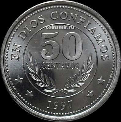 50 сентаво 1997 Никарагуа.