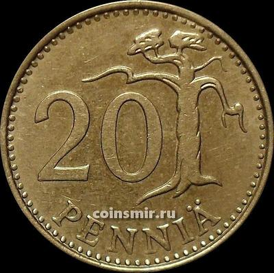 20 пенни 1983 К Финляндия.