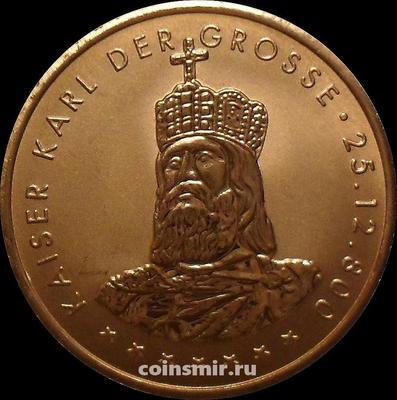 Жетон Король Карл Великий. Северный Рейн-Вестфалия, Германия.