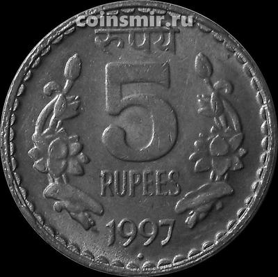 5 рупий 1997 Индия.