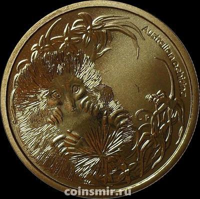 1 доллар 2013 Австралия. Австралийская ехидна.