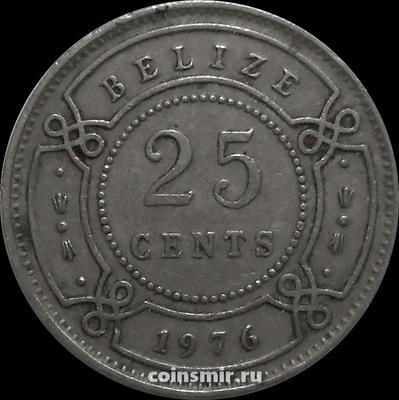 25 центов 1976 Белиз.