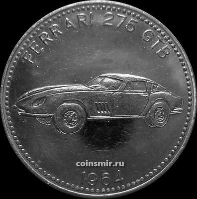 Жетон SHELL Ferrari 275 GTB 1964