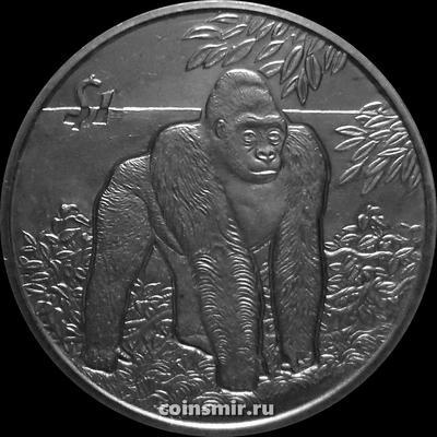1 доллар 2005 Сьерра-Леоне. Горилла.