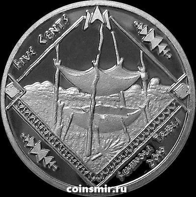 5 центов 2019 племя Семинолы.
