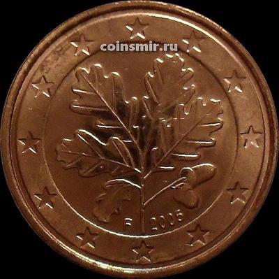5 евроцентов 2005 F Германия.