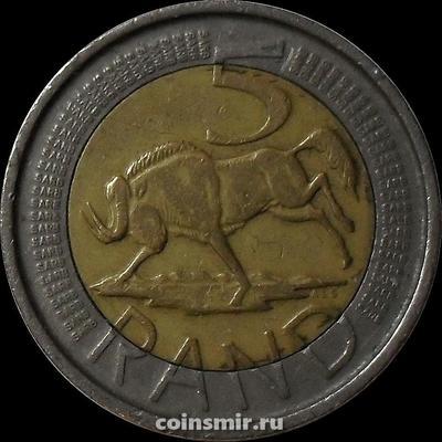 5 рандов 2005 Южная Африка (ЮАР).
